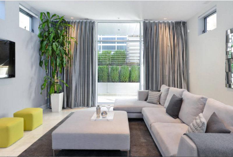 Уникальные серые шторы в интерьере: 3 варианта сочетаний