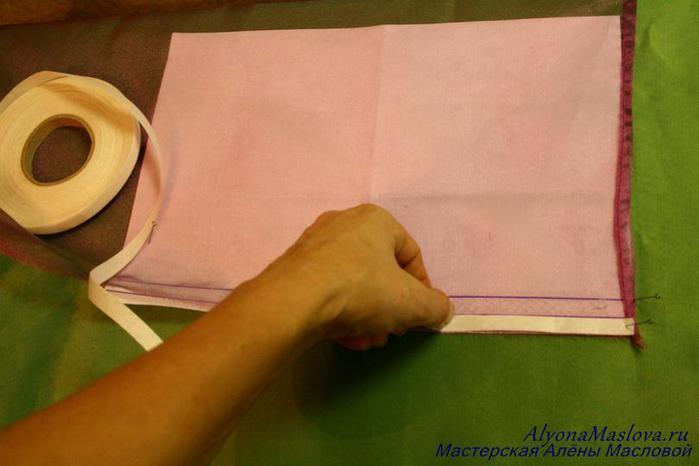 kak-podshit-shtori-3 Как подшить тюль в домашних условиях. Как правильно подшить тюль с помощью ленты своими руками