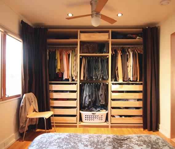 виды штор вместо двери в гардеробную шторки для шкафа