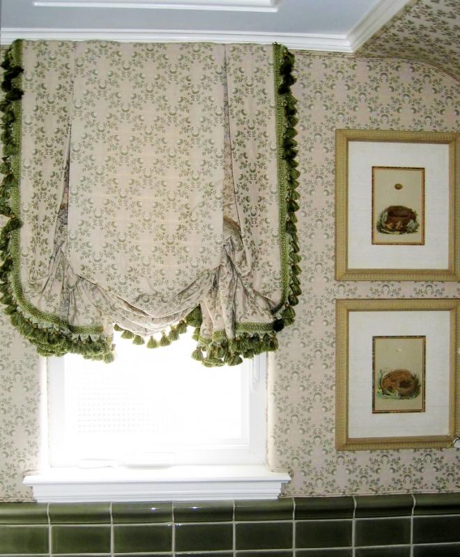 Как удлинить шторы снизу своими руками