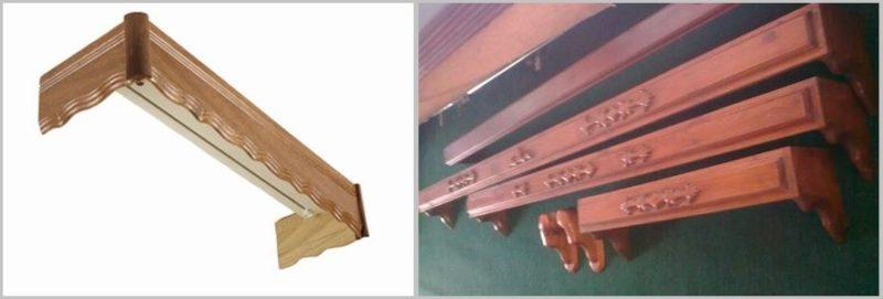 карниз своими руками для деревянных домов резные гардины